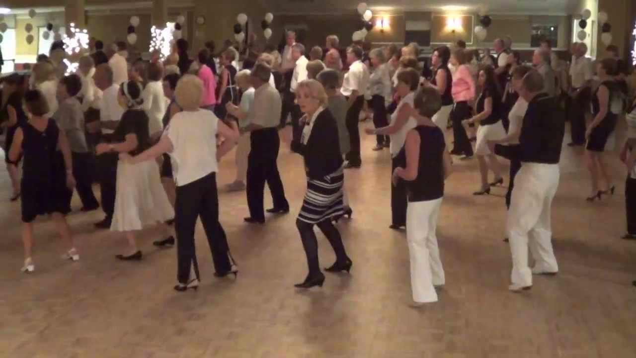 Electric Slide Line Dance 2017 B W Ball Copa Party In Deerfield Beach Florida You