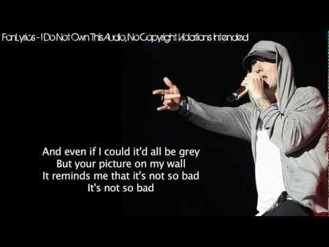 Eminem - Stan (Lyrics)