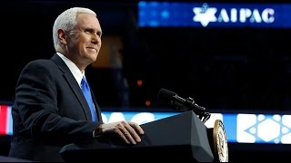 serious consideration for moving us embassy to jerusalem vp pence at aipac