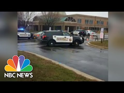 Police On Scene At School Shooting In Great Mills, Maryland | NBC News