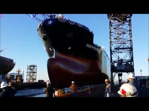 Eco Independence Ship launch