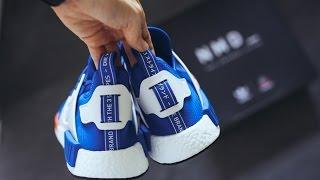 Unboxing Adidas NMD XR1 Blue Bird +
