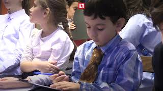 Мария Захарова провела урок детям