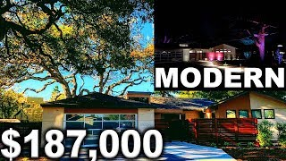 $187,000 Landscape Job In 17 Days (Ultra Modern House With Color Led Lights)
