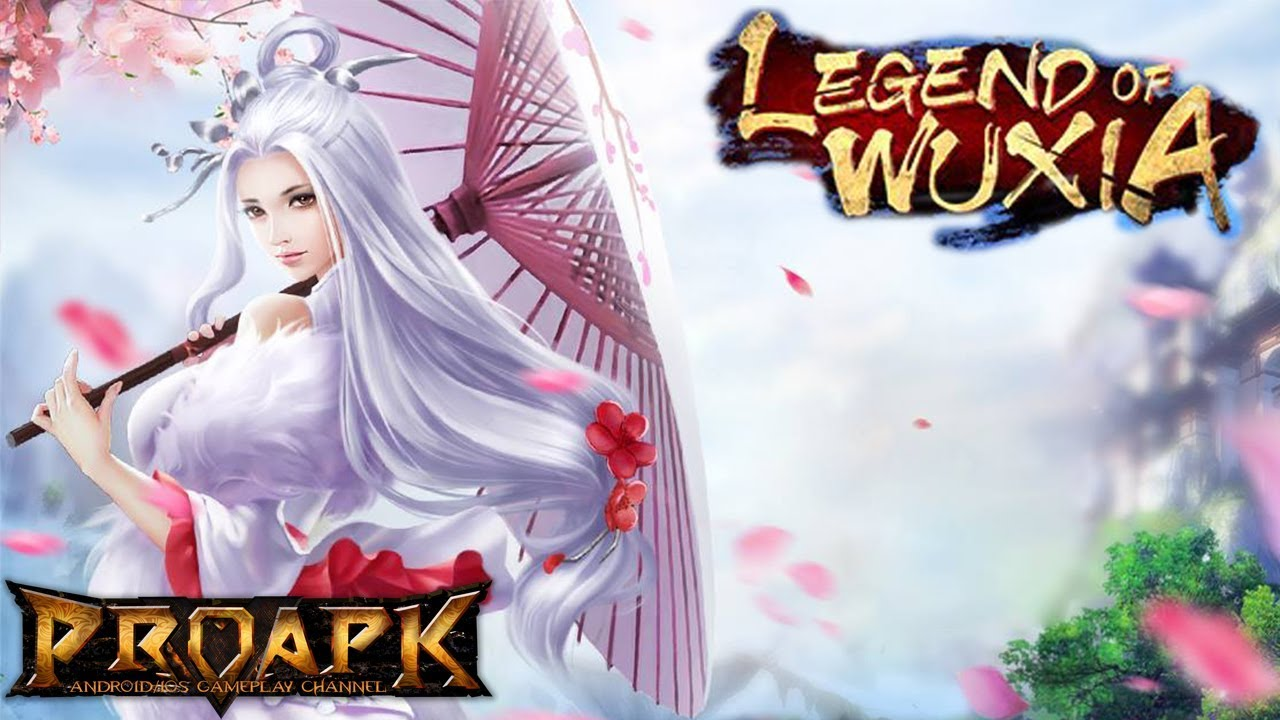 Legend of Wuxia Gameplay Android / iOS (3D Open World MMORPG)