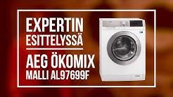 Expertin esittelyssä AEG AL97699F Ökomix -pesukone
