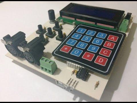 Arduino DMX 512 Tester and Controller - Hard v0.0/Firm v0.6