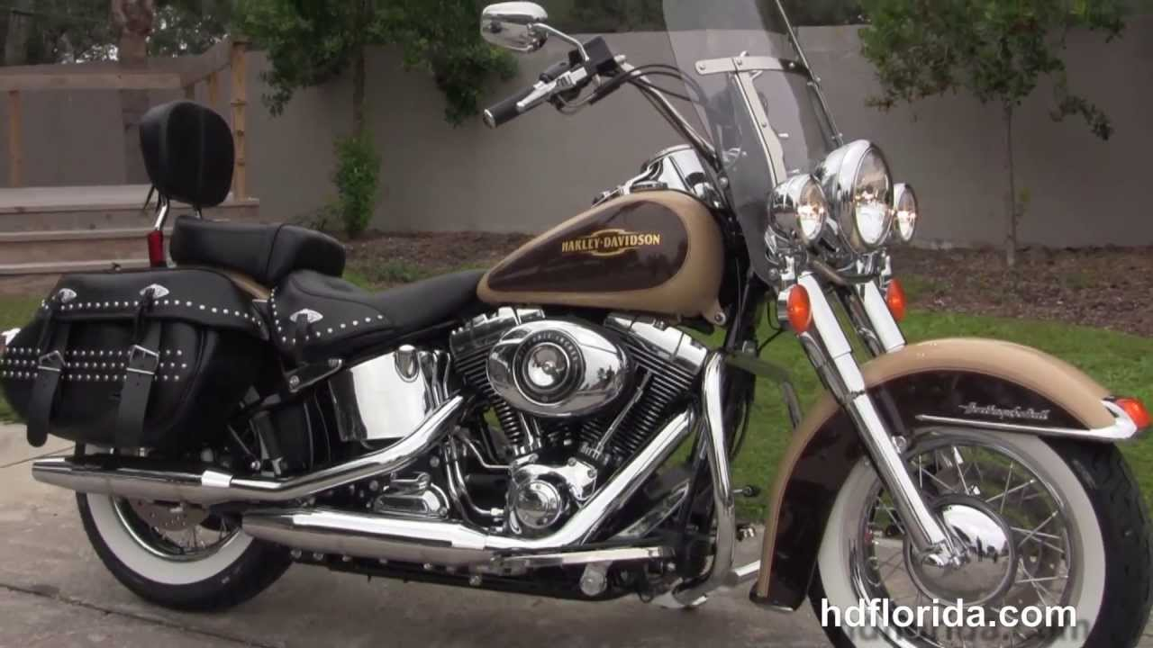 Harley Davidson Heritage Softail Classic Colors