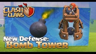 [Clash Of Clans] October Update 2016, Sneak Peek #3 The Bomb Tower, Balancing Changes
