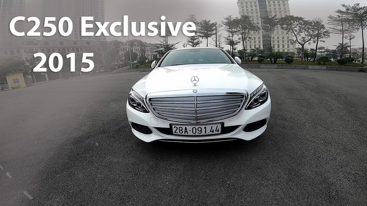 Chào bán Mercedes C250 sx2015 Màu Trắng Nội Thất Kem Loa Burmester // Phone: 0965851112