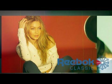 Para Reebok, lo clásico inspira al futuro (campaña con Gigi
