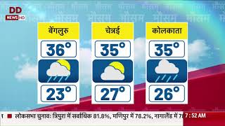 Weather updates from across the country (Hindi) | 12/4/2019