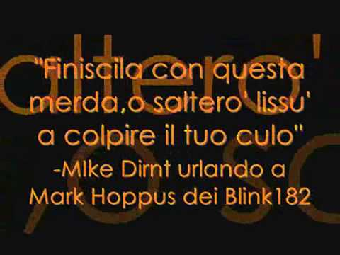 belle frasi blink 182