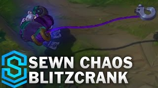 Sewn Chaos Blitzcrank Skin Spotlight - Pre-Release - League of Legends