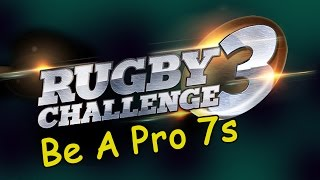 RUGBY CHALLENGE 3 - Be A Pro 7s