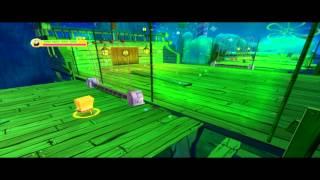 Эксклюзив игра Губка боб Квадратные Штаны Планктон Месть Роботов (Риф Кораблекрушений)