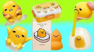 Huge GUDETAMA Toy Show with Blind Boxes Stress Balls Slime | Fizzy Toy Show