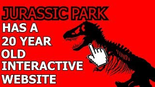 Jurassic Park Has A 20 Year Old Interactive Website - Inside A Mind