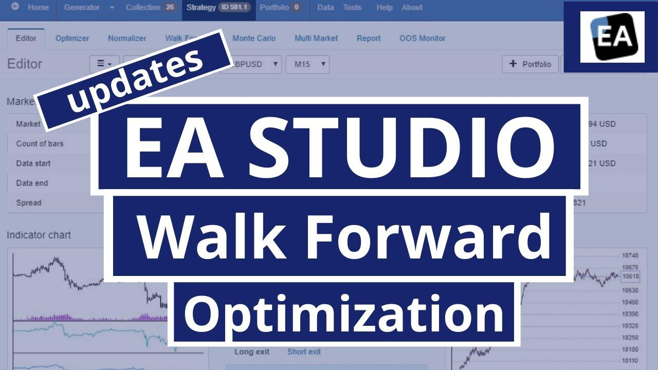 Ea Studio Updates Walk Forward Optimization Youtube