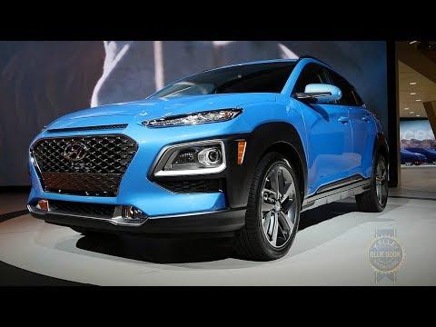 2018 Hyundai Kona 2017 Los Angeles Auto Show