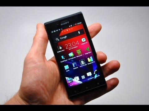 Test du Sony Xperia J - par Test-Mobile.fr