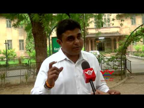 VTV- GUJARAT UNI.VICE CHANCELLOR HINT ALLEGED ILLEGAL CUTTING OF WORKS APPROVED