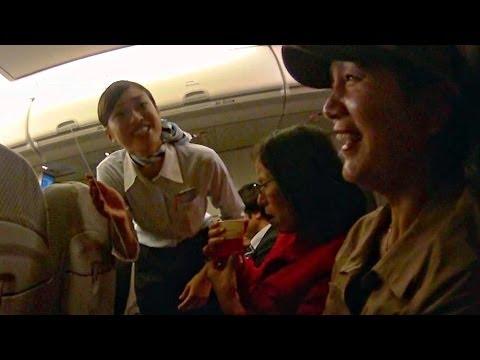 Beautiful Cordial Japan Airlines stewardess 美麗親切的日航空姐