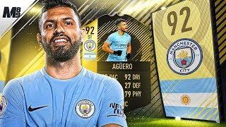 FIFA 18 TIF AGUERO REVIEW | 92 TIF AGUERO PLAYER REVIEW | FIFA 18 ULTIMATE TEAM
