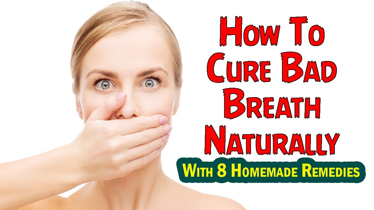 How To Remove Bad Breath Naturally