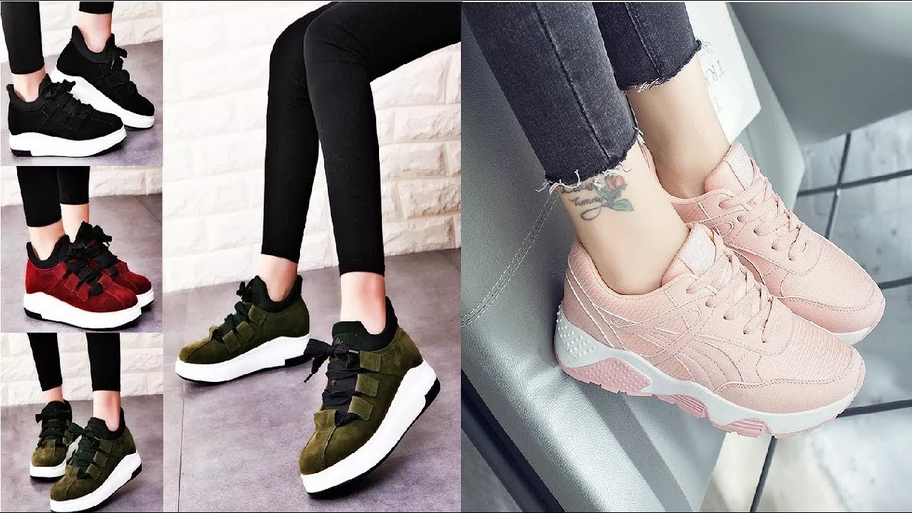 a2498b77f احذية للبنات موضة Best Casual Shoes for Women I 2018 - YouTube