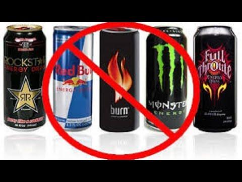 Опасные безалкогольные энергетики
