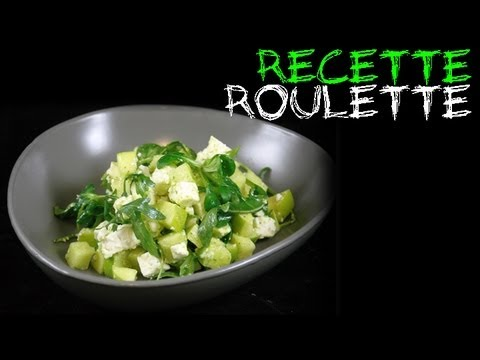 Recette : Salade pommes et feta