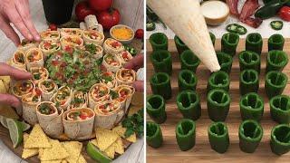 Tex Mex Feast 🇲🇽  Fajitas for All 🌯 Ice Cream Tacos 🌮  Taco Tuesday🗼