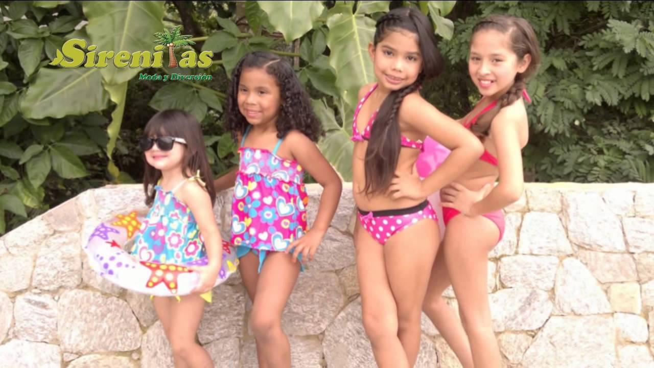 Trajes de Baños Sirenitas - YouTube: https://www.youtube.com/watch?v=TxCp1uWh3V8