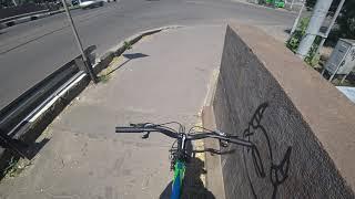 Езда на велосипеде по Харькову