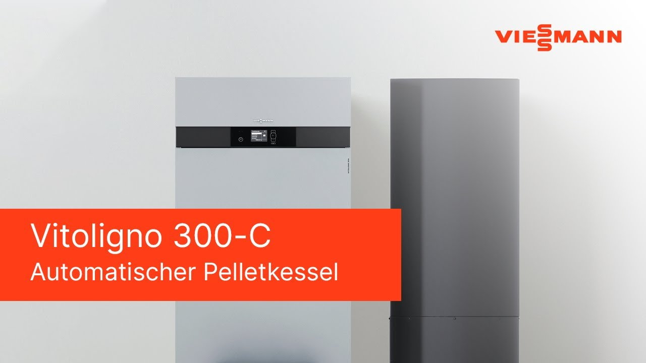 viessmann vitoligno 300 c youtube. Black Bedroom Furniture Sets. Home Design Ideas