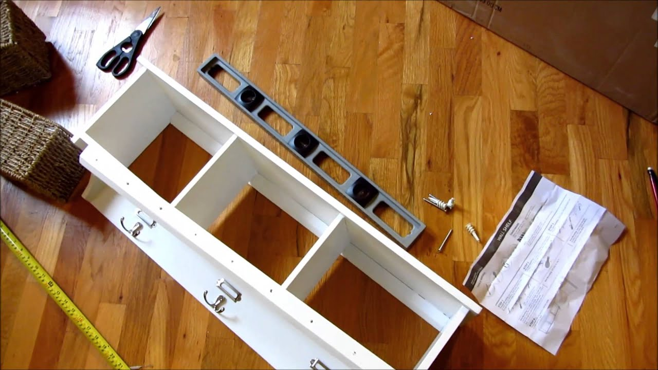 Tar Threshold Entryway Wall Shelf How to Hang and Install