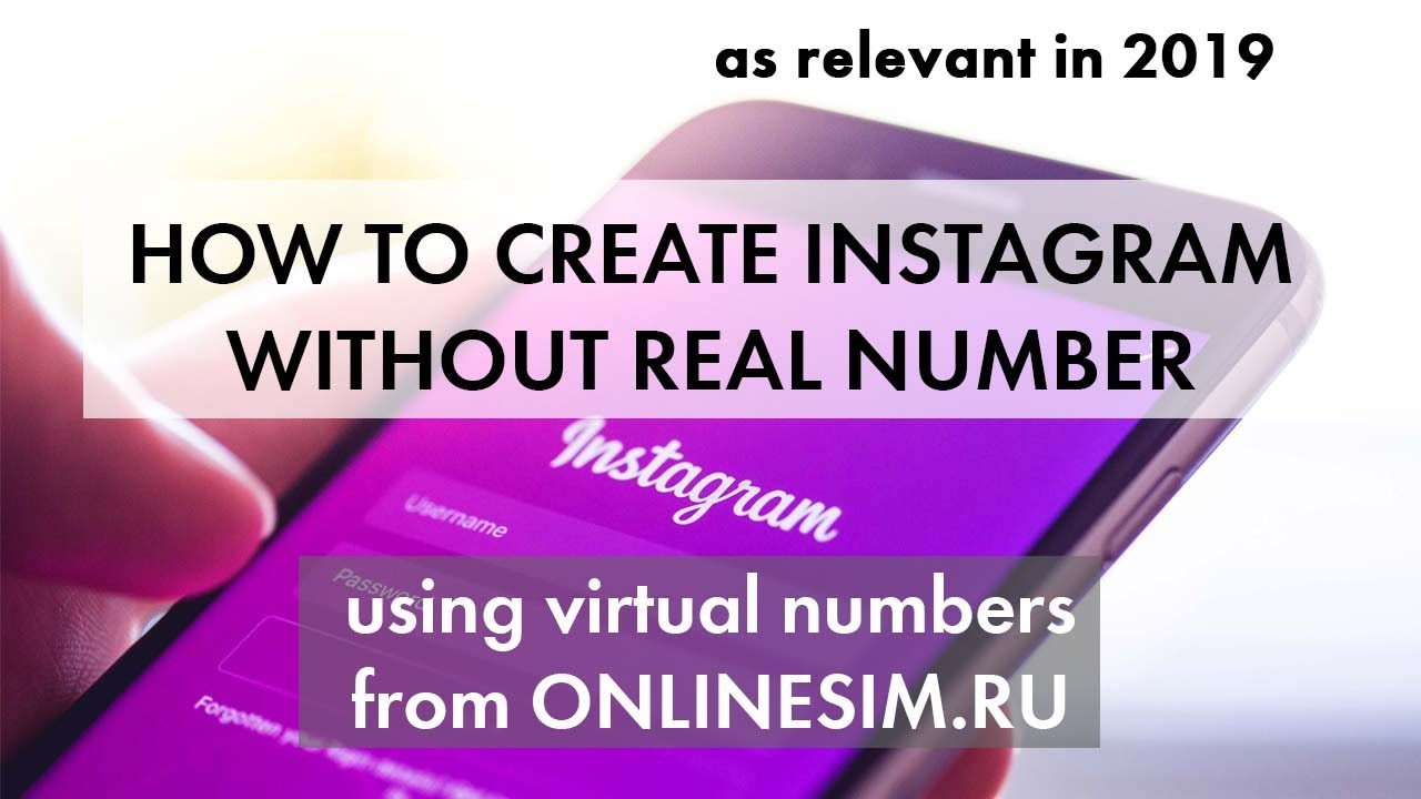 Receive sms and verify INSTAGRAM (Chinese number)