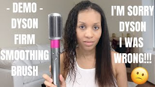 DEMO | DYSON AIRWRAP FIRM SMOOTHING BRUSH | I WAS WRONG!!! PART 2 OF 2