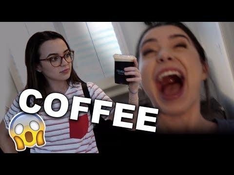 She Gave Me COFFEE!!
