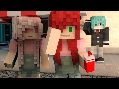 UN DÍA DE LOCOS Y LOS DE CORAZÓN DE MELÓN!!!   Cap. 6 SCHOOL LIFE ( Minecraft Roleplay )