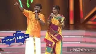 Mukka Molam (Senthil ganesan) song super singer Vijay TV