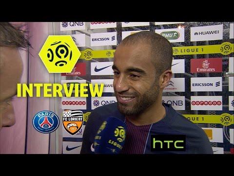 Interview de fin de match : Paris Saint-Germain - FC Lorient (5-0) / 2016-17