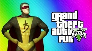 GTA 5 Online Funny Moments - Brown Streak Man, Changing Room Glitch, Poop Cop, Daw SHIT!