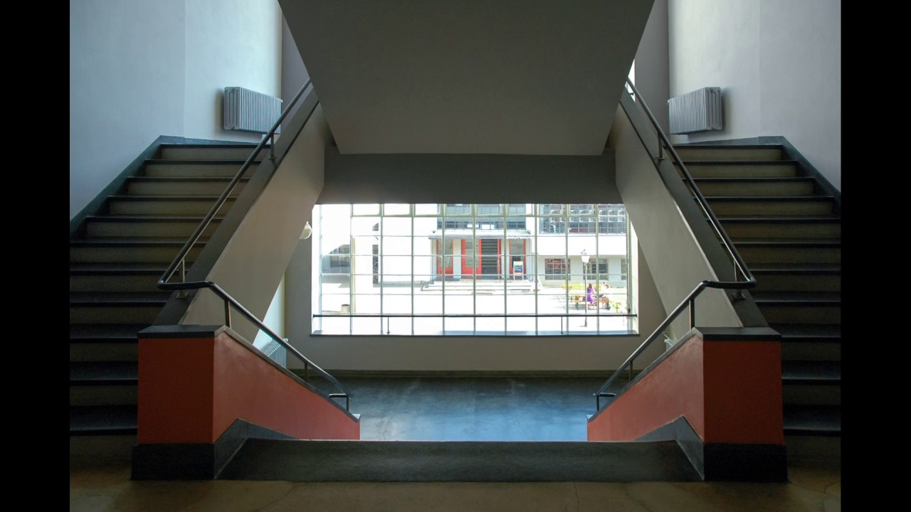 Bauhaus Interiors Bauhaus Dessau  Interior  Youtube