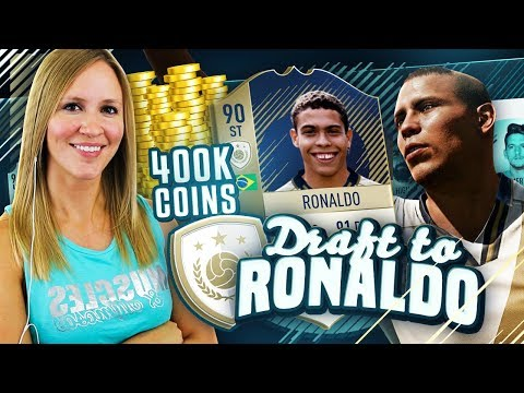 I GOT 400,000 COINS!! DRAFT TO RONALDO ICON #8 | FIFA 18