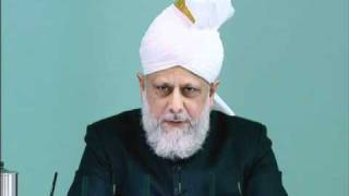 Friday Sermon: 26th November 2010 - Part 4 (Urdu)