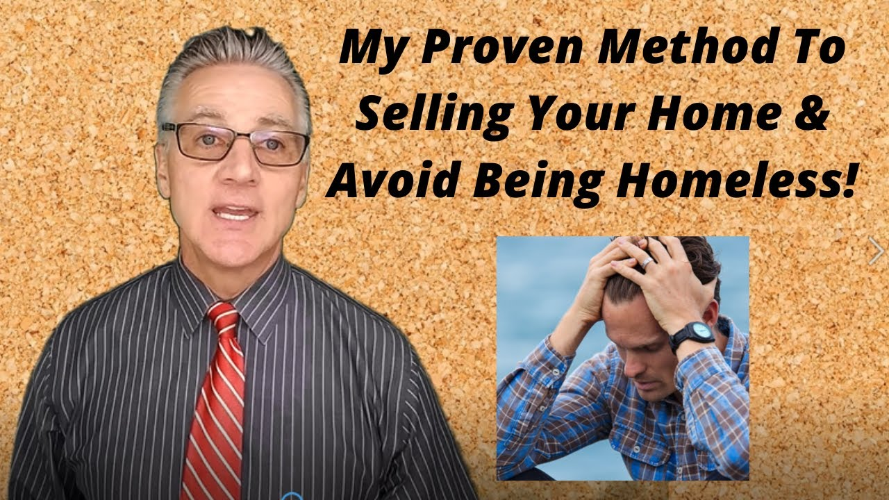 Want to sell,  worried you will be homeless ?
