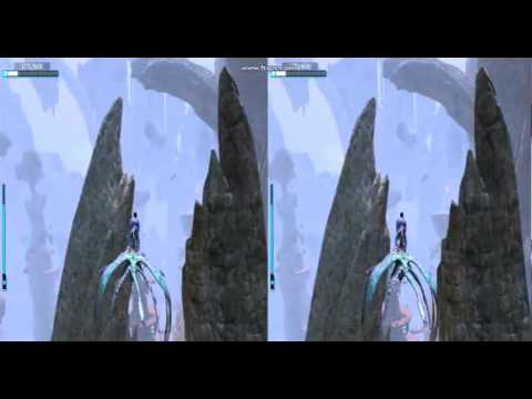 Avatar game 3d stereoscopic flying level