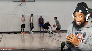 MOPI BROKE JAMES ANKLES! HE HAD TO QUIT THE GAME LOL! 2Hype King Of The Court Basketball